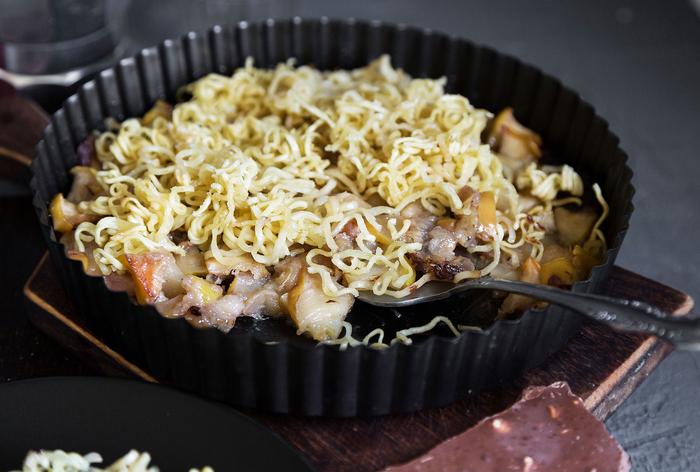 5 неожиданных блюд из доширака Рецепт, Доширак, Еда, Длиннопост
