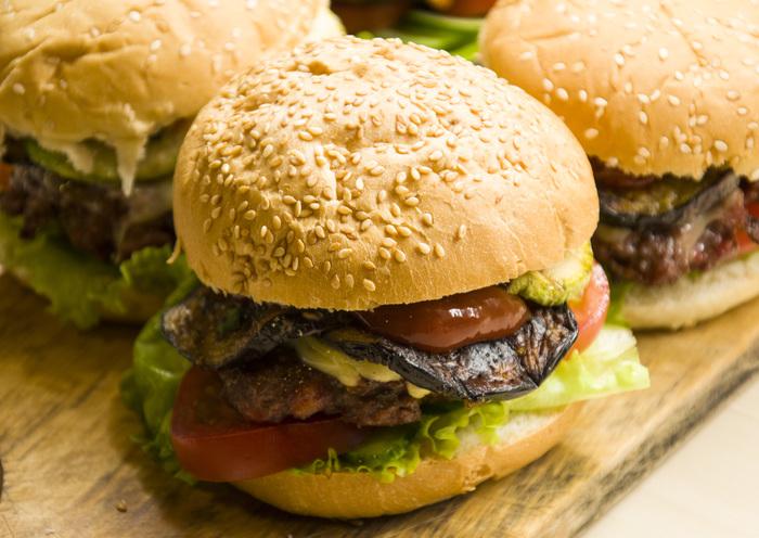 Сельский бургер Еда, Рецепт, Мясо, Гриль, Дача, SonOfRocketman, Dinoburger, Длиннопост