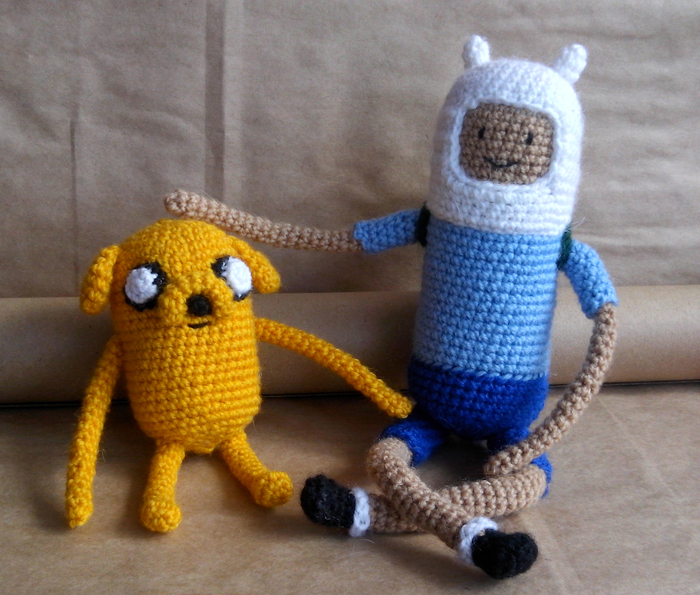 Время приключений! Adventure time, Амигуруми, Вязание крючком, Финн и джейк, Рукоделие, Длиннопост