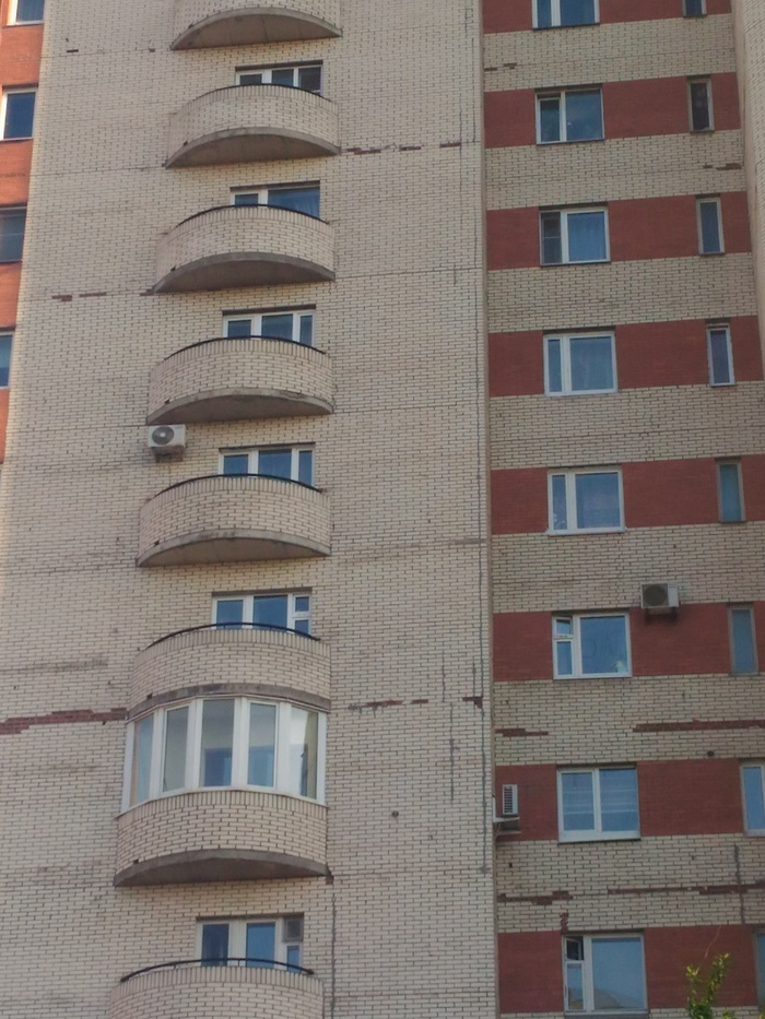 Питерские новостройки... Фасад, Дом, Кирпичи, Длиннопост, Санкт-Петербург