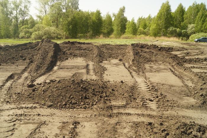 Хищение земли с поля и свалка мусора. Хищение, Свалка, Моральные уроды, Видео, Длиннопост