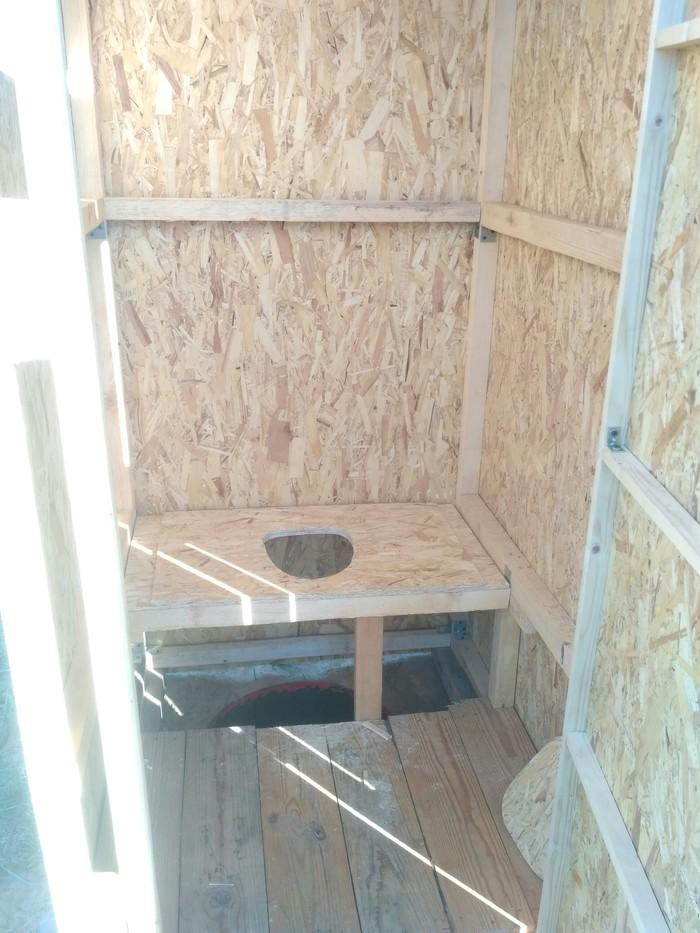 Как я строил туалет или первая постройка строительство и ремонт, своими руками, длиннопост