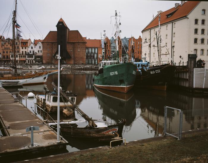 Тихая гавань города Гданьска
