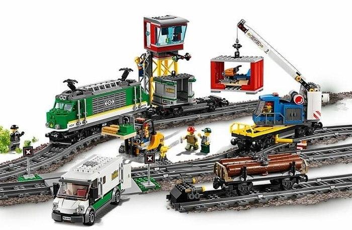Появились нормальные изображения новых поездов Lego Поезд, Lego, Длиннопост