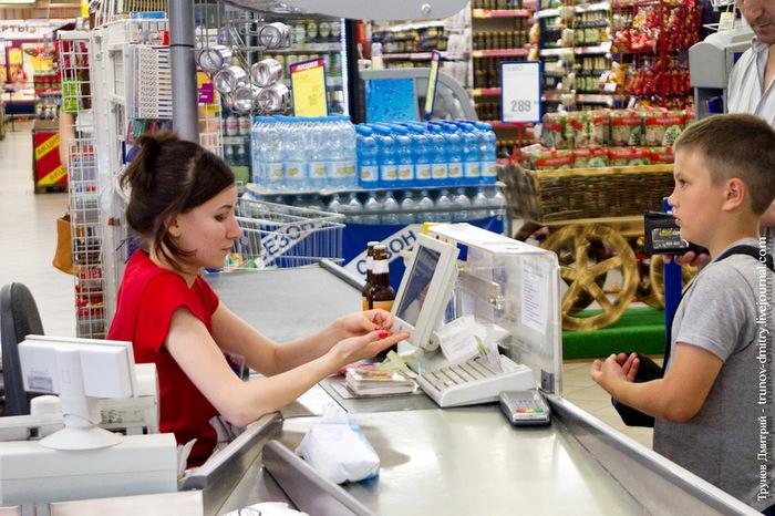 Как одна история делает весь вечер) Дети, Магазин, Супермаркет Перекресток, Добро, Конфликт, Братья и сестры, Кассир, Женщина, Длиннопост