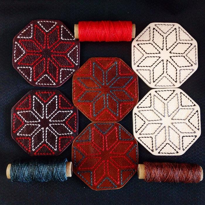 Кожаная обложка с вышивкой Сварожич Рукоделие с процессом, Изделия из кожи, Кожевенное ремесло, Язычество, Длиннопост