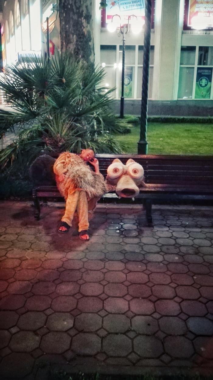 Спят усталые бельчата Сочи, Белка, Ледниковый период, Сон
