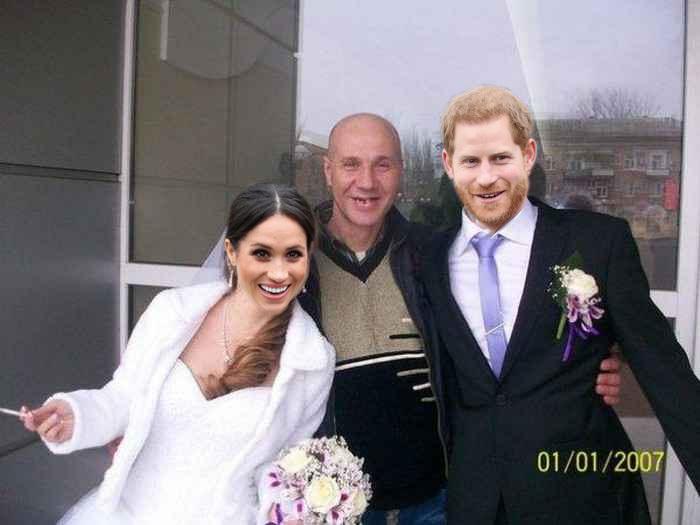 Вот и подоспели фотографии со свадьбы Принца Гарри Принц, Гарри, Свадьба