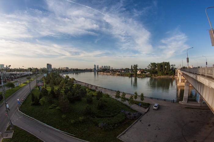 Утренняя велопрогулка Краснодар-Адыгея Утро, Город, Краснодар, Прогулка, Фотография, Велосипед, Длиннопост
