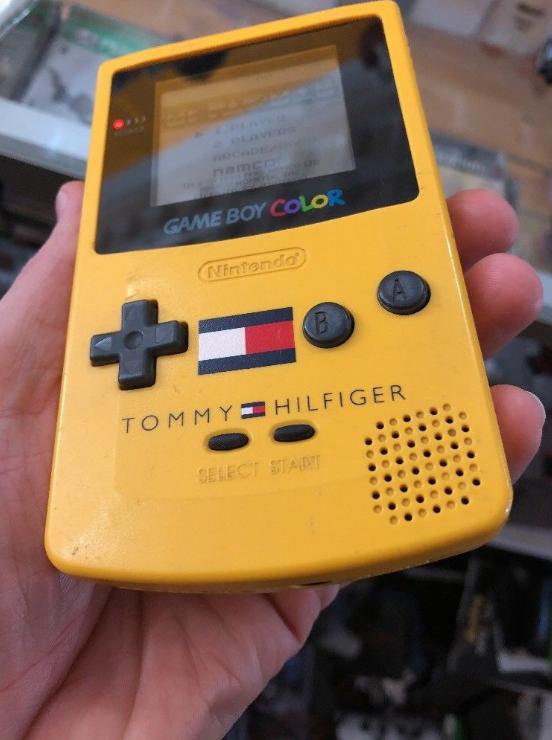 Tommy Hilfiger Game Boy Gameboy, Tommy hilfiger, Ретро