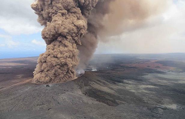Вулкан на Гавайях пугает местных жителей и привлекает туристов гавайи, Килауэа, Вулкан, длиннопост