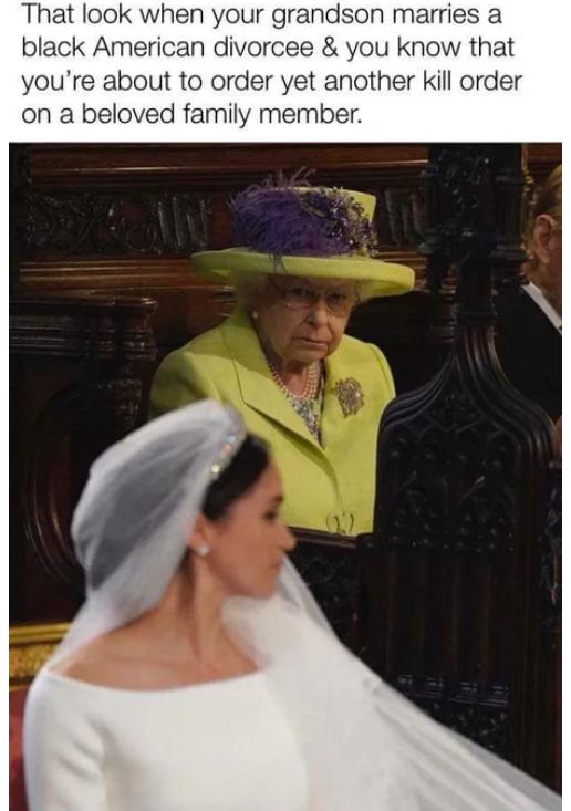 Еще один приказ надо подписать Меган Маркл, Королева