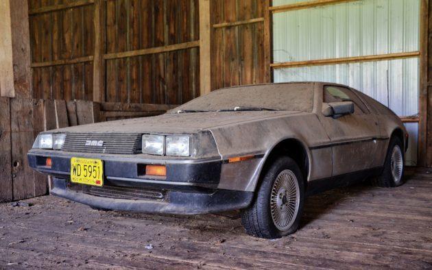 DeLorean DMC-12 провел в сарае 35 лет! Delorean, Barnfind, Сарай, Находка, Не делориан, Назад в будущее, Классика, Длиннопост