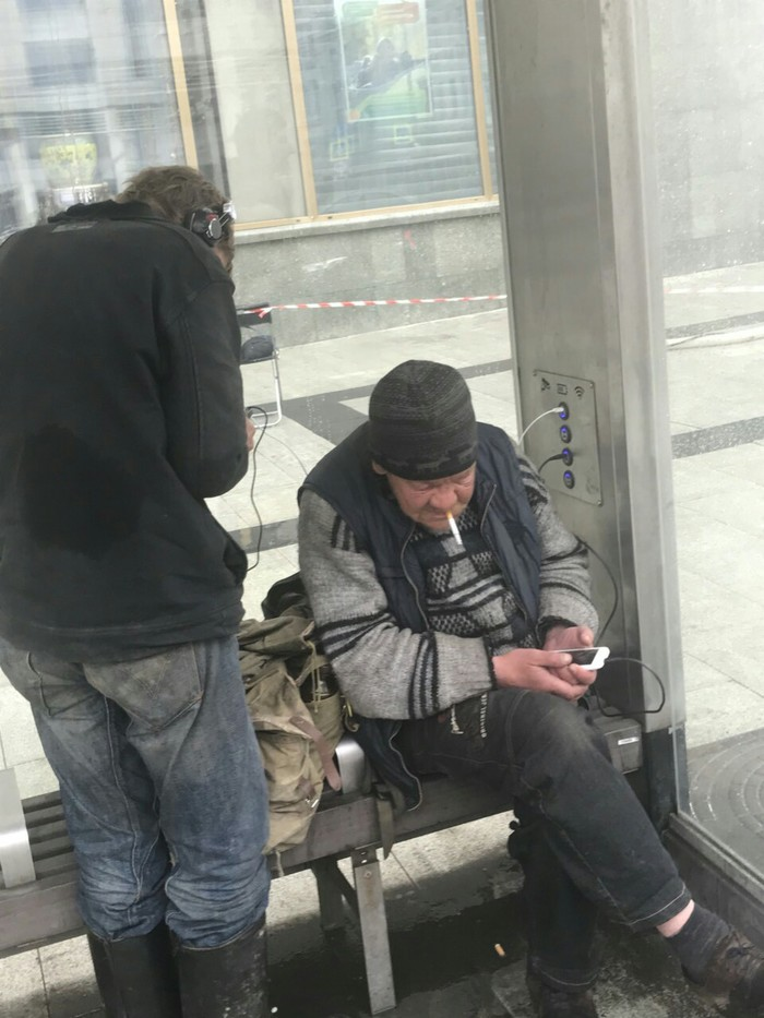 Жители Москвы тестируют новые автобусные остановки Собянина