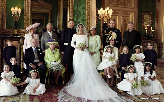 Опубликованы официальные фотографии свадьбы принца Гарри и Меган Маркл