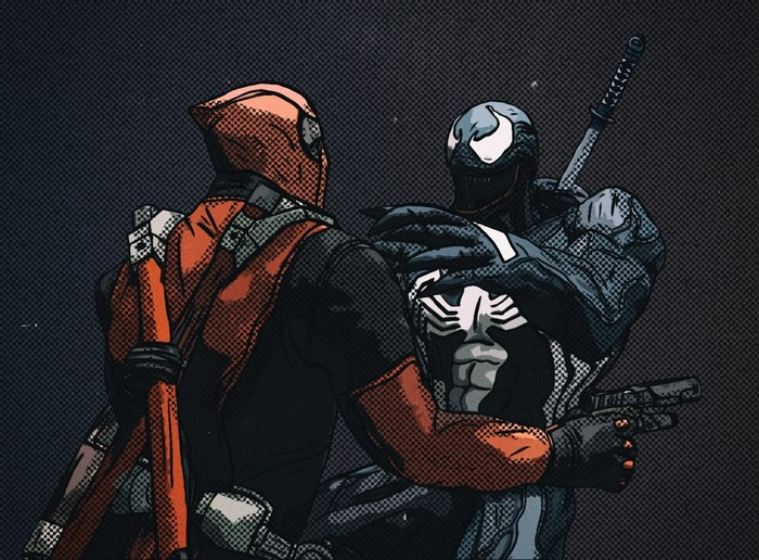 Deadpool VS Venom