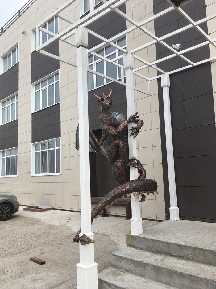Соседи развлекаются: Скульптура, Соседи, Забавное, Бронза, Длиннопост