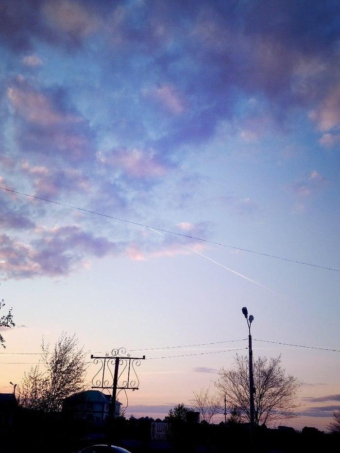 Закаты весенних вечеров города Сибай. Начинающий фотограф, Моё, Закат, Сибай, Длиннопост