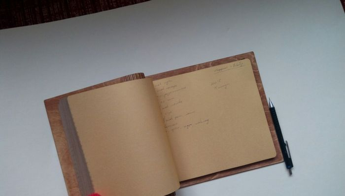 Блокнот для записи рецептов. Рукоделие без процесса, Лазерная резка, Фанера, Блокнот, Длиннопост