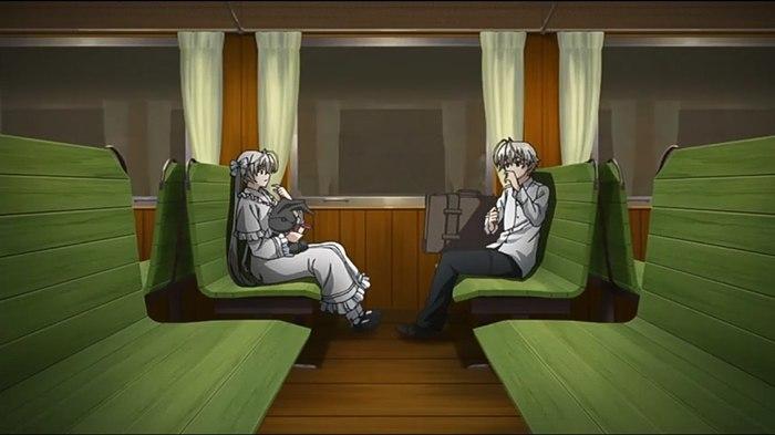 Крошки Аниме, Yosuga no Sora, Связанные небом, Sora Kasugano, Haruka Kasugano, Длиннопост