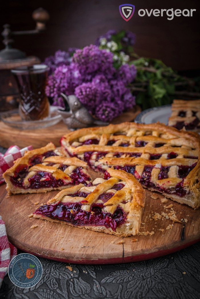 Cheery Cherry Pie | Чудесный вишневый пирог| World of Warcraft Литературная кухня, Из Одессы с морковью, Кулинария, Еда, Рецепт, World of Warcraft, Длиннопост, Фотография