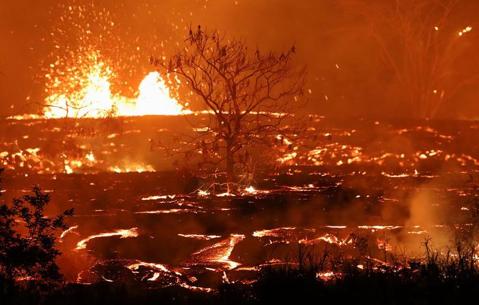 Новые фотографии Килауэа Килауэа, извержение вулкана, длиннопост, гавайи