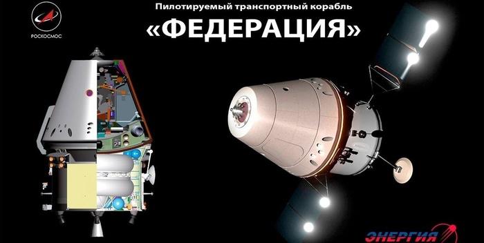 Завершен первый этап испытаний модели корабля «Федерация» Российское производство, Космос, Россия, Федерация, Роскосмос, Наука, Длиннопост