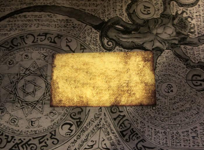 Визитки от Московского Культа Ктулху) Культ Ктулху, Ктулху, Говард Филлипс Лавкрафт, Визитка, Щупальца
