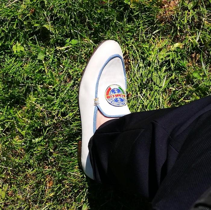 a619a3be1 Обувь ручной работы. Бельгийские лоаферы с альпийскими мотивами. Обувь,  Ручная работа, Кожа