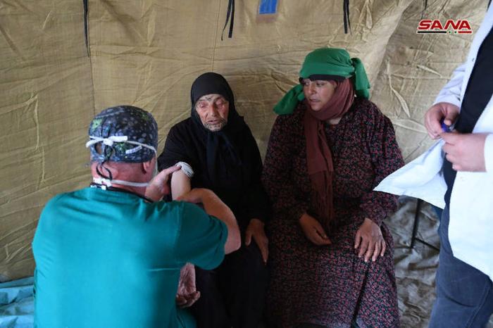 Более 500 человек вернулись в свои дома вокруг авиабазы Абу-Духур Политика, Война в сирии, Перевод, Авиабаза, Длиннопост