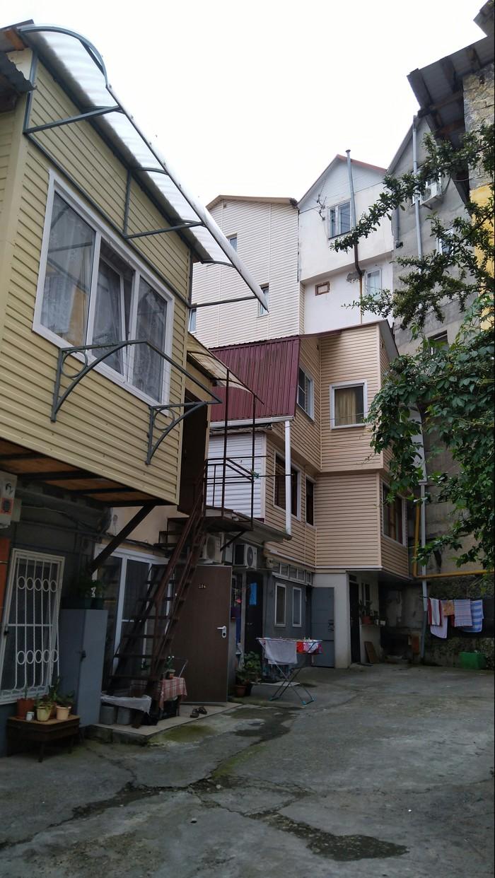 Жилые гаражи или Чайна-таун по-русски длиннопост, Строительство, гараж, жилищный вопрос, сочи