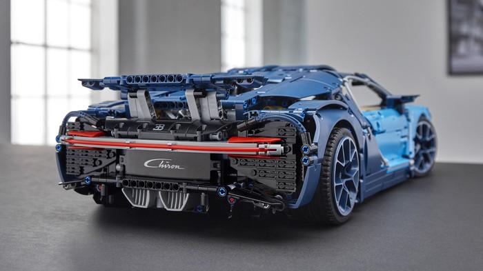 Lego представил супернабор Bugatti Lego, Bugatti, Хобби, Длиннопост