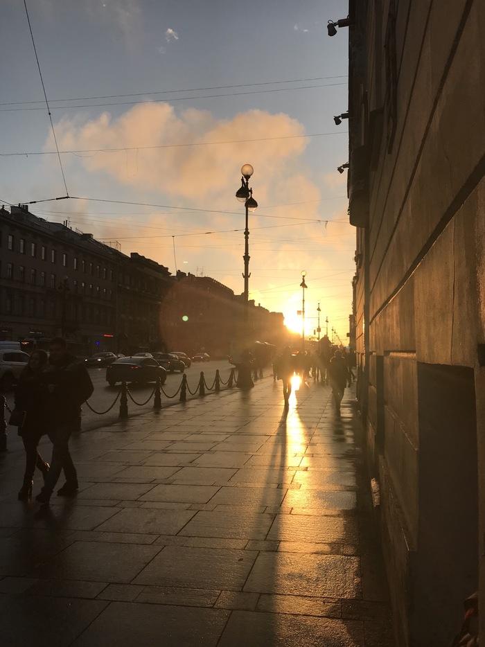 Вы должны это видеть Санкт-Петербург, Природа, Небо, Красота, Фотография, Я художник - я так вижу, Закат, Длиннопост