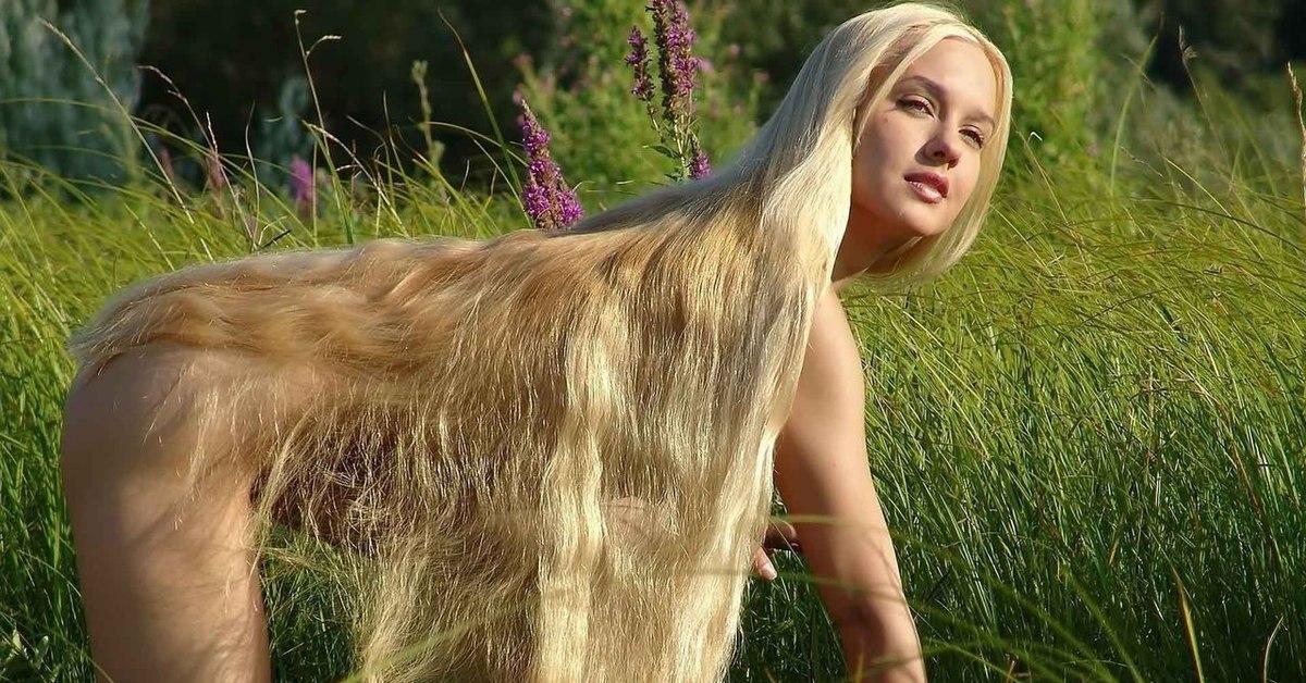 Длинные волосы фото эротика — pic 9