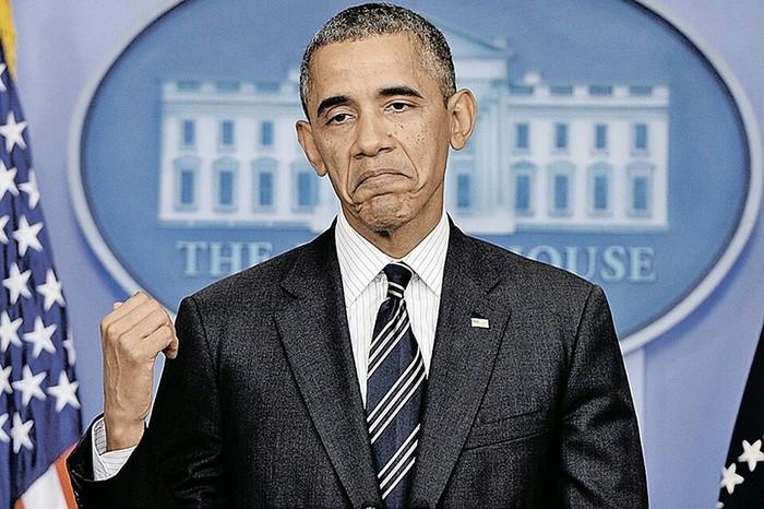 Напомнило Попрошайки, Обама