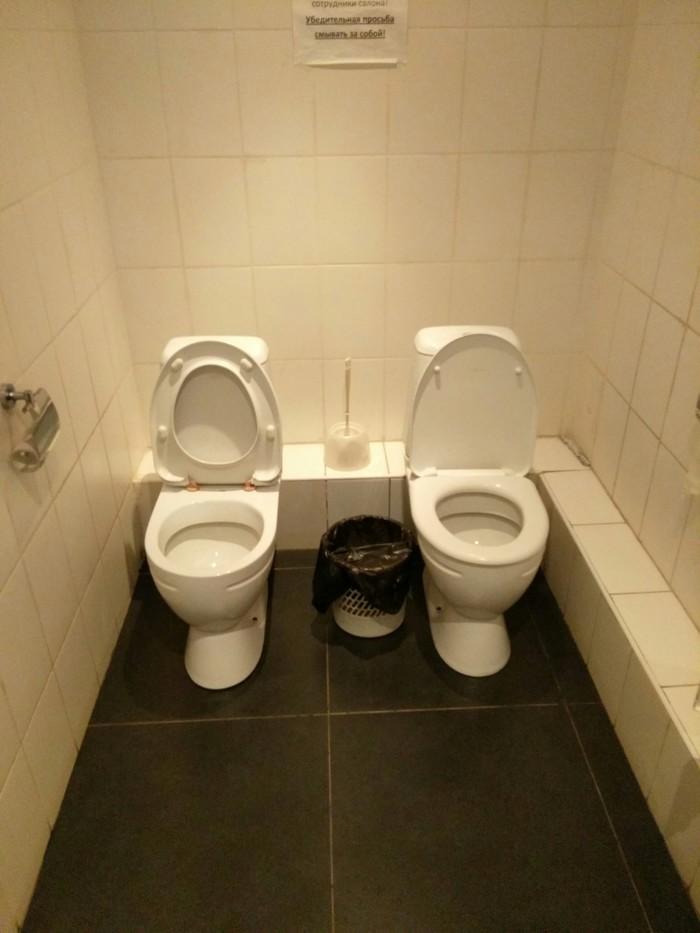 Дуэтом Kia, Киров, Туалет