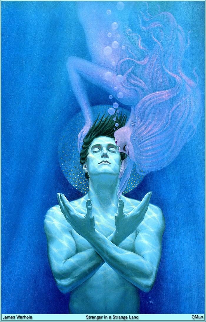"Сексуальная революция по-марсиански или ""библия"" хиппи от Хайнлайна. Роберт Хайнлайн, Марс, Длиннопост"