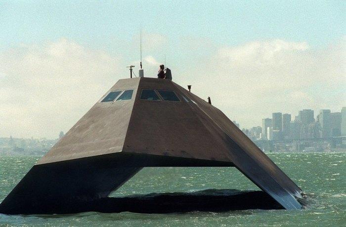 Американский корабль-невидимка такой же бесполезный, как и F-117! Корабль, Самолет, Разработка, Длиннопост