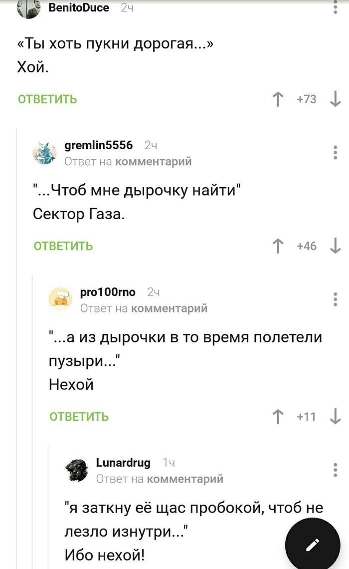 Хой - нехой Комментарии, Юрий хой, Сектор газа