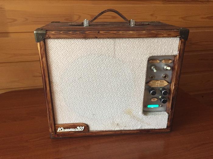 Ламповый комбоусилитель из «юности 301» Радиотехника, Своими руками, Винтаж, Ретро, Длиннопост, Музыка, Усилитель