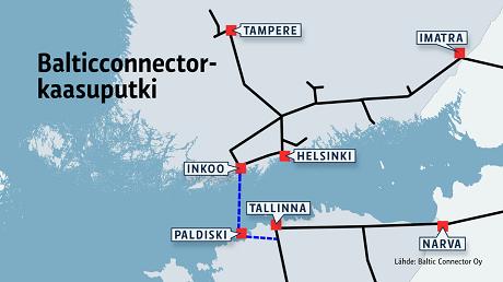 Началось строительство первого газопровода между Эстонией и Финляндией. Финляндия, Эстония, снижение зависимости, газ, политика
