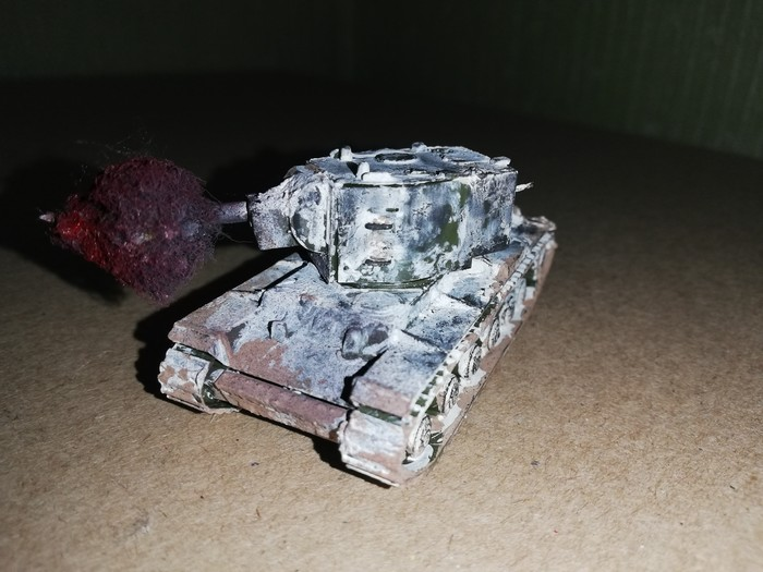 Кв-2 Стендовый моделизм, Танки, Масштабная модель, Длиннопост
