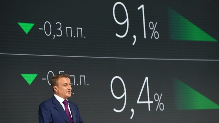 Сбербанк: снижение ставки ипотеки для всех? Сбербанк, Ипотека, Снижение ставок по ипотеке, Герман Греф