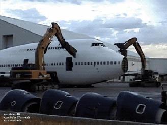 Разрушение Боинга 747