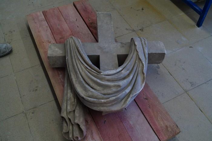 Реставрация алтарного креста базилики св. Екатерины. Часть 1. Мрамор, Резьба по камню, Реставрация, Церковь, Крест, Длиннопост