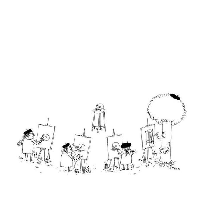 Рисуя бренность