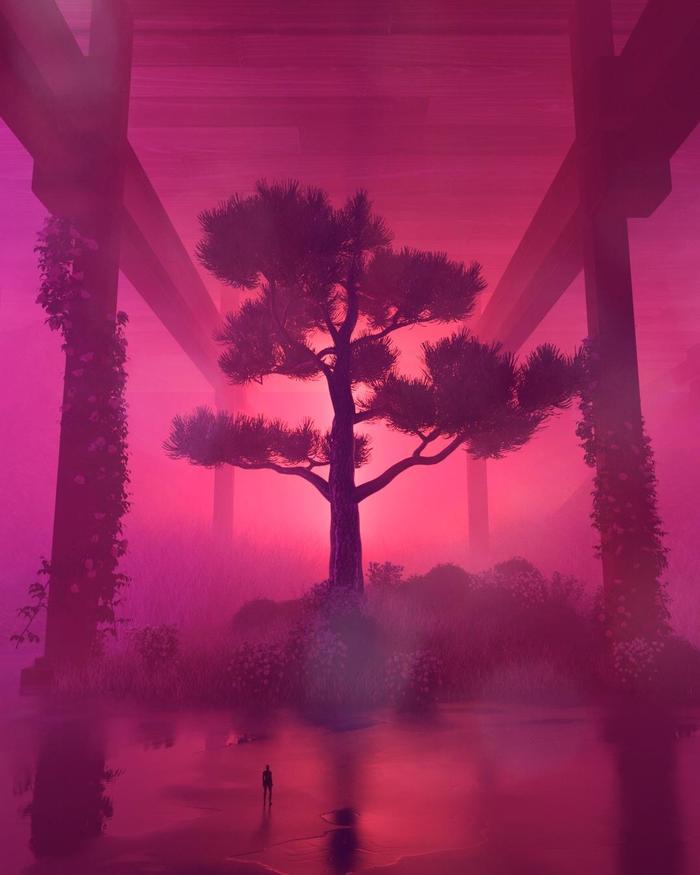 Colorblind Цифровой рисунок, Арт, Cinema 4d, Рендер, Дальтонизм, Digital