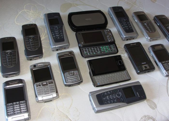 Моя небольшая коллекция легендарных смартфонов и коммуникаторов прошлой эпохи Мобильные телефоны, Symbian, Windows Mobile, Смартфон, КПК, Nokia, Sony Ericsson, HTC Universal, Длиннопост
