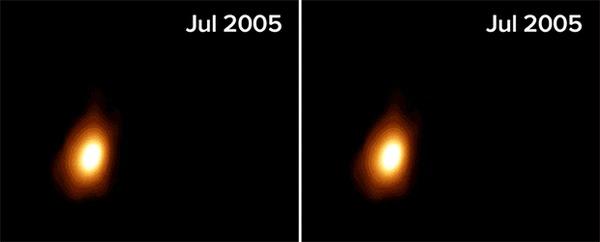 Появилась первая фотография кормящейся черной дыры Космос, Черная дыра, Фотография, Астрофизика, Звезда, Гифка