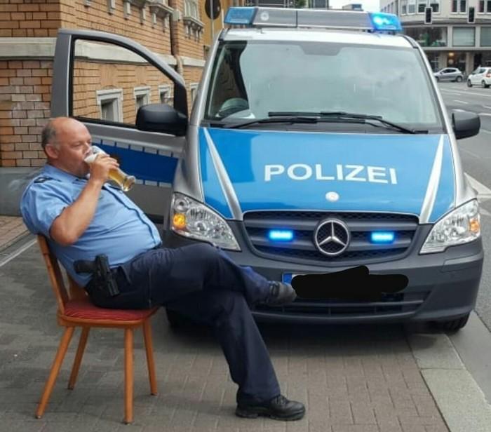 Полицейские рутинные истории #4 полиция, Германия, работа, Истории, байка